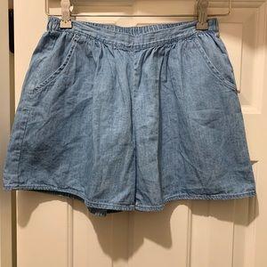 GAP Kids girl's denim shorts, size XXL (14/16)